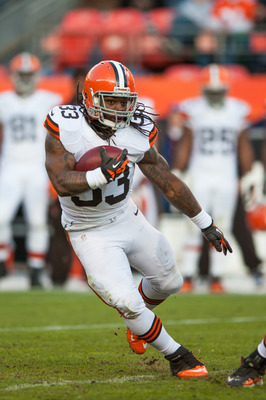 Trent Richardson was Cleveland's best offensive threat in 2012.