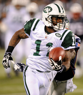 Jeremy Kerley caught seven balls for 120 yards in 2012's loss at Foxborough.