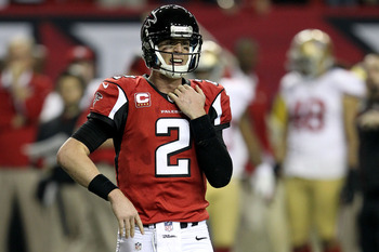 Quarterback Matt Ryan had his best year in 2012.