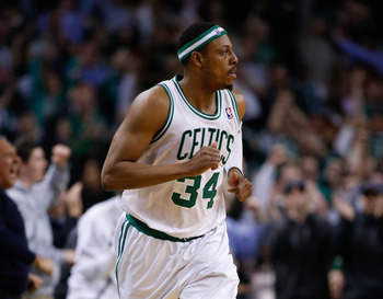 Boston Celtics' Paul Pierce