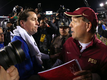 Florida was able to leave Tallahassee with a victory in 2012.