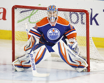 If Devan Dubnyk can get on a roll, the Oilers could ride his performance to a playoff position.