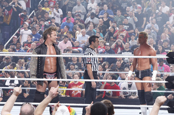 Fans React to Chris Jericho's Royal Rumble 2013 Return (photo courtesy of WWE.com)