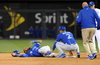 Jose Reyes' sprained ankle leaves a huge hole in the middle of the field and at the top of the lineup for the Blue Jays.