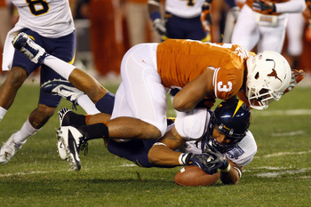 The return of Hicks should make the Longhorns much more effective along the front seven.