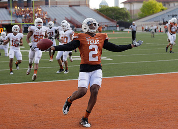 Sanders is the latest in a recent string of Longhorns finding trouble with the law. Eric Gay/AP Photo