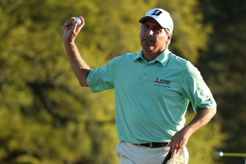 Fred Couples hung in for almost three rounds, but couldn't finish.