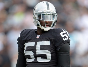 The Oakland Raiders recently released former first-round pick Rolando McClain.