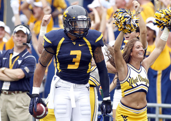 Stedman Bailey celebrates another touchdown catch.