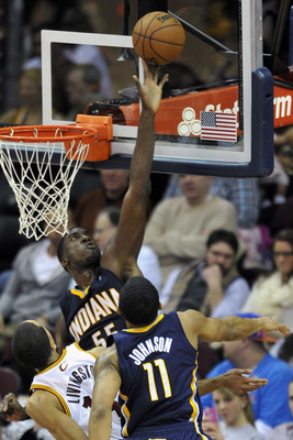 The Indiana Pacers' success in the playoffs rests largely on Roy Hibbert's play down low.