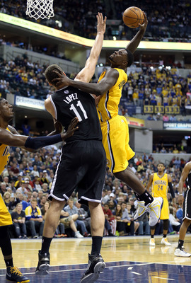 Third-year man Lance Stephenson is a bundle of energy on the court for the Indiana Pacers.