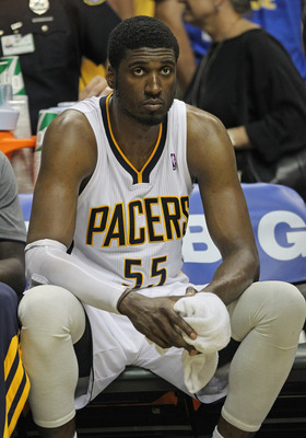 Although Roy Hibbert and the Pacers are 49-31 and are shoo-ins for the third seed in the East, not everything has been rosy this season.