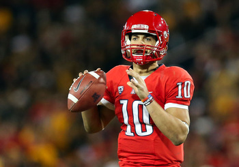 Matt Scott could be the next great NFL quarterback.