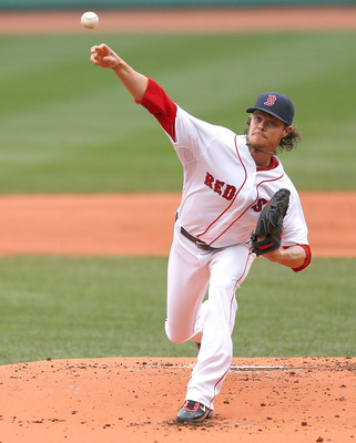 Clay Buchholz nearly recorded his second career no-hitter.