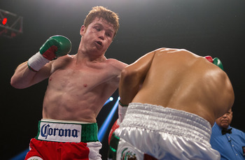 Canelo cut off the ring nicely against Josesito Lopez last September.