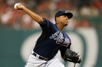 Once regarded as a future ace, Julio Teheran has really struggled to develop his breaking ball and command.