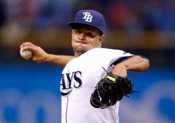 Chris Archer has some of the most exciting stuff in baseball, as well as a serious lack of control.