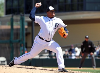 Bruce Rondon has one of the best fastballs you will ever see. He also has no idea where things are going.