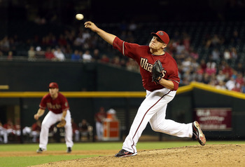 Diamondbacks RP David Hernandez