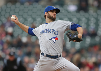 Blue Jays SP Brandon Morrow