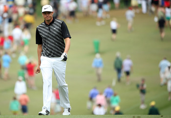 Nick Watney begins his trip around Augusta National on Sunday.