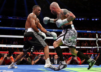It's hard to hit Austin Trout, even in close quarters.