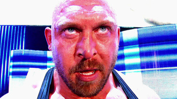 Ryback is a freak athlete but hasn't done anything earth-shattering since he returned to the WWE. Photo Courtesy of WWE.com