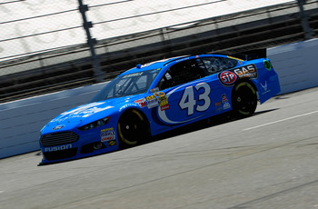 Aric Almirola currently pilots the iconic No. 43, and has showed the speed to contend for victories.