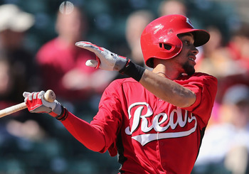 The Reds would love for Hamilton to prove he's ready to take on the majors next season.