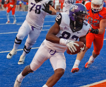Boyce's performance against Boise State in 2011 was one to remember