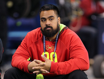 The Jaguars should take a defensive tackle such as Star Lotulelei in the first round.