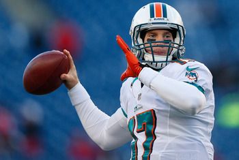 Tannehill will look to improve in his sophomore season.