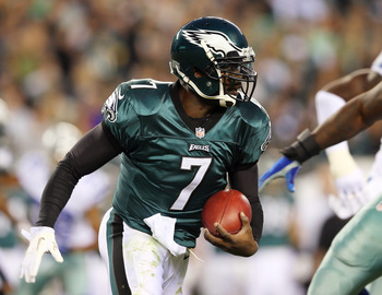 Vick seeks to stay healthy for the entirety of a season in order to keep his starting job.