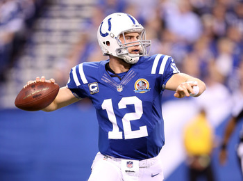 Luck brought poise back to the QB position in Indy last season.