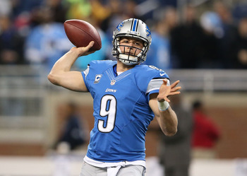 Stafford has a big arm and knows how to use it.
