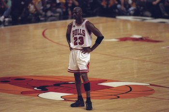 Chicago Bulls' Michael Jordan