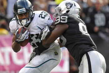 Rashad Jennings was signed by the Raiders to backup Darren McFadden.