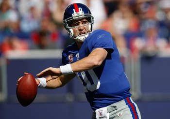 Turnovers are the key thing against Eli Manning and the Giants.