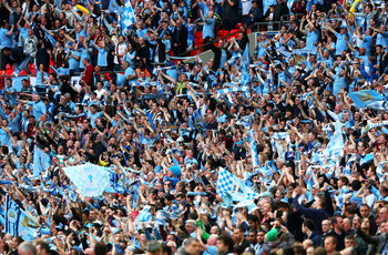City fans have until recently been down-trodden by their Red rivals.