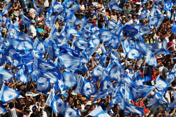 Marseilles fans are known for being one of the rowdiest in France.