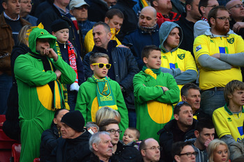 Norwich City: One of the unfortunate clubs to have had this song directed at them.