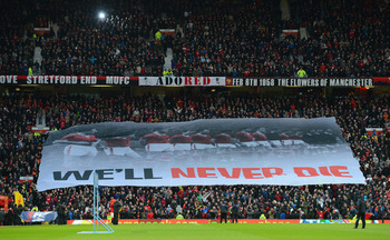 The Munich air disaster is part of the Manchester United legend.