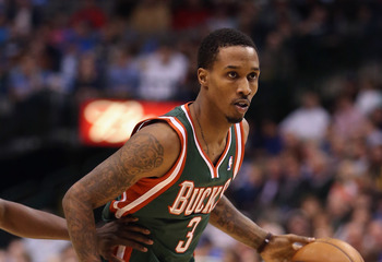 Brandon Jennings must keep Miami's point guards in check.