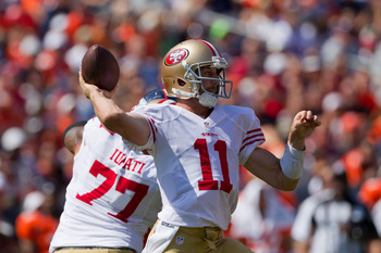 Alex Smith is an improvement, but it remains to be seen if he can be an elite quarterback.