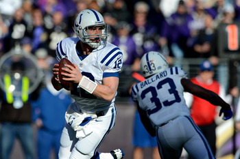 Andrew Luck replaced Peyton Manning in Indianapolis.