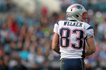 Wes Welker switched sides in the budding rivalry between the Broncos and Patriots.