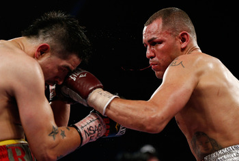 Denver tough guy Alvarado bounced back from a seventh-round TKO loss to Brandon Rios to defeat his rival over 12 rounds last month.
