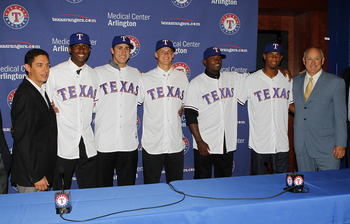 Joey Gallo and Nick Williams are products of the Rangers strong 2012 draft.
