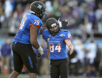 Michael Frisina won the MAACO Bowl Las Vegas for Boise State last season, but graduated. Will someone else be able to step up and replace Frisina's consistency?