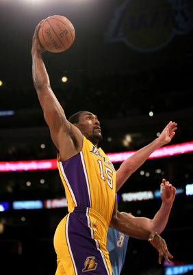 Metta World Peace to the hoop.